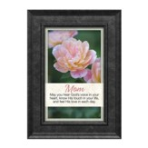 Mom May You Hear God's Voice in Your Heart Framed Art