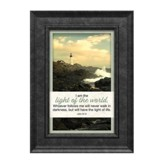 I am the Light of the World Framed Art