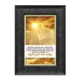 God Didn't Promise Days Without Pain Framed Art