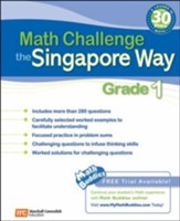 Math Challenge the Singapore Way Grade 1