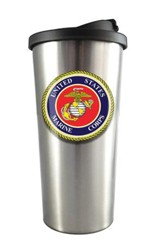 U.S. Marines Stainless Steel Travel Mug