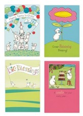 Birthday, Really Woolly Cards, Box of 12