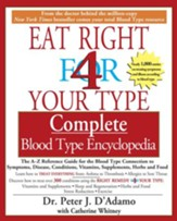 The Complete Blood Type Encyclopedia Eat Right 4 Your Type - eBook