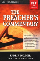 The Preacher's Commentary Volume 35: 1,2,3 John/Revelation   - Slightly Imperfect