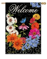 Welcome, Hidden Garden Flag, Large