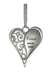 Friend, You Are Loved Heart Ornament