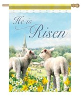 He Is Risen (lambs), Large Flag