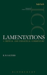 Lamentations: International Critical Commentary [ICC]