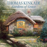 2018 Gardens Of Grace Wall Calendar