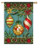 Glittering Ornaments Flag, Large