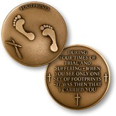 Footprints Coin