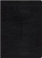 Ryrie NAS Study Bible Soft Touch Black, Red Letter - Imperfectly Imprinted Bibles