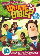 What's in the Bible? #10: Jesus Is the Good News! DVD   - Slightly Imperfect