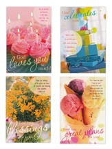 Birthday, Sweets Cards, Box of 12