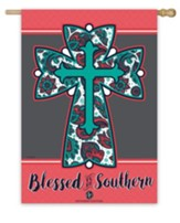 Blessed To Be Southern Flag, Large