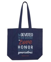 Be Devoted To One Another In Love Tote Bag