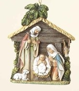 Holy Family in Stable, Ornament