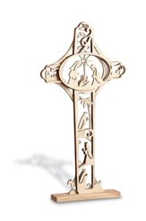 Nativity Tabletop Cross