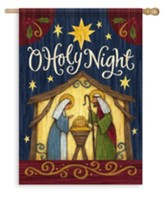 O Holy Night, Large Flag