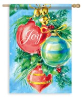 Joy, Shining Ornaments Flag, Large