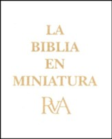La Biblia en Miniatura RVA Dorada  (The Miniature Bible RVA, Gold)