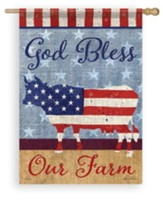 God Bless Our Farm, Large Flag