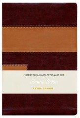 Biblia RVA 2015 Letra Grande, Imitacion Piel, Dos Tonos (Large Print, Imitation Leather, Two-Tone)