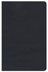 NKJV Minister's Pocket Bible, Black Genuine Leather