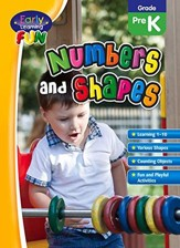 Early Learning Fun: Numbers and Shapes, PreK