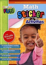 Preschool Fun - Math Sticker Activities