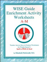 WISE Guide Enrichment Activity Worksheets A-M