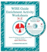 WISE Guide Enrichment Activity Worksheets, N-Z