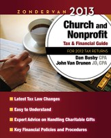 Zondervan 2013 Church and Nonprofit Tax & Financial Guide: For 2012 Tax Returns - Slightly Imperfect