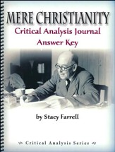 Mere Christianity Critical Analysis Journal Answer Key