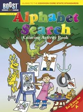 Alphabet Search Coloring Activity Book