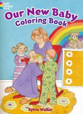 Our New Baby Coloring Book