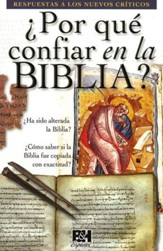 ¿Por qué confiar en la Biblia? - Pamfleto  (Why Trust the Bible? Pamphlet)
