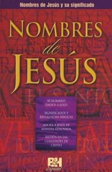 Nombres de Jesus Folleto (Names of Jesus, Pamphlet)