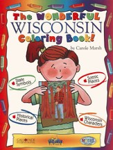 Wisconsin Coloring Book, Grades PreK-3