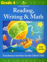 Gifted & Talented: Grade 4 Reading,  Writing & Math