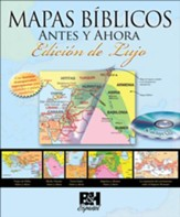 Mapas Bíblicos Antes y Ahora, Edición de Lujo  (Then and Now Bible Maps, Deluxe Edition)