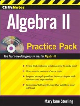 CliffsNotes Algebra II Practice Pack
