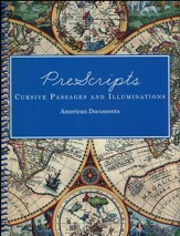 PreScripts Cursive Passages and Illuminations: American Documents