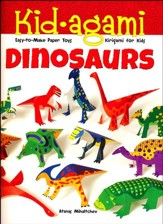 Kid-agami - Dinosaurs: Kiragami for Kids: Easy-to-Make Paper Toys