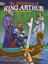 The Adventures of King Arthur Coloring Book