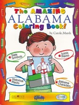 Alabama Coloring Book, Grades PreK-3