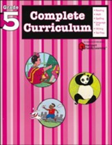 FlashKids Complete Curriculum Workbook: Grade 5