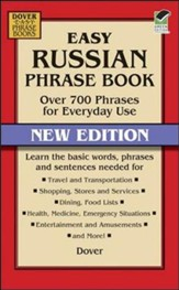 Easy Russian Phrase Book: Over 700 Phrases for Everyday Use, New Edition