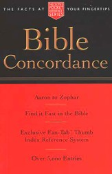 Pocket Bible Concordance