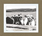 I Will Love You Till the Cows Come Home, Cow Farm, Framed Art